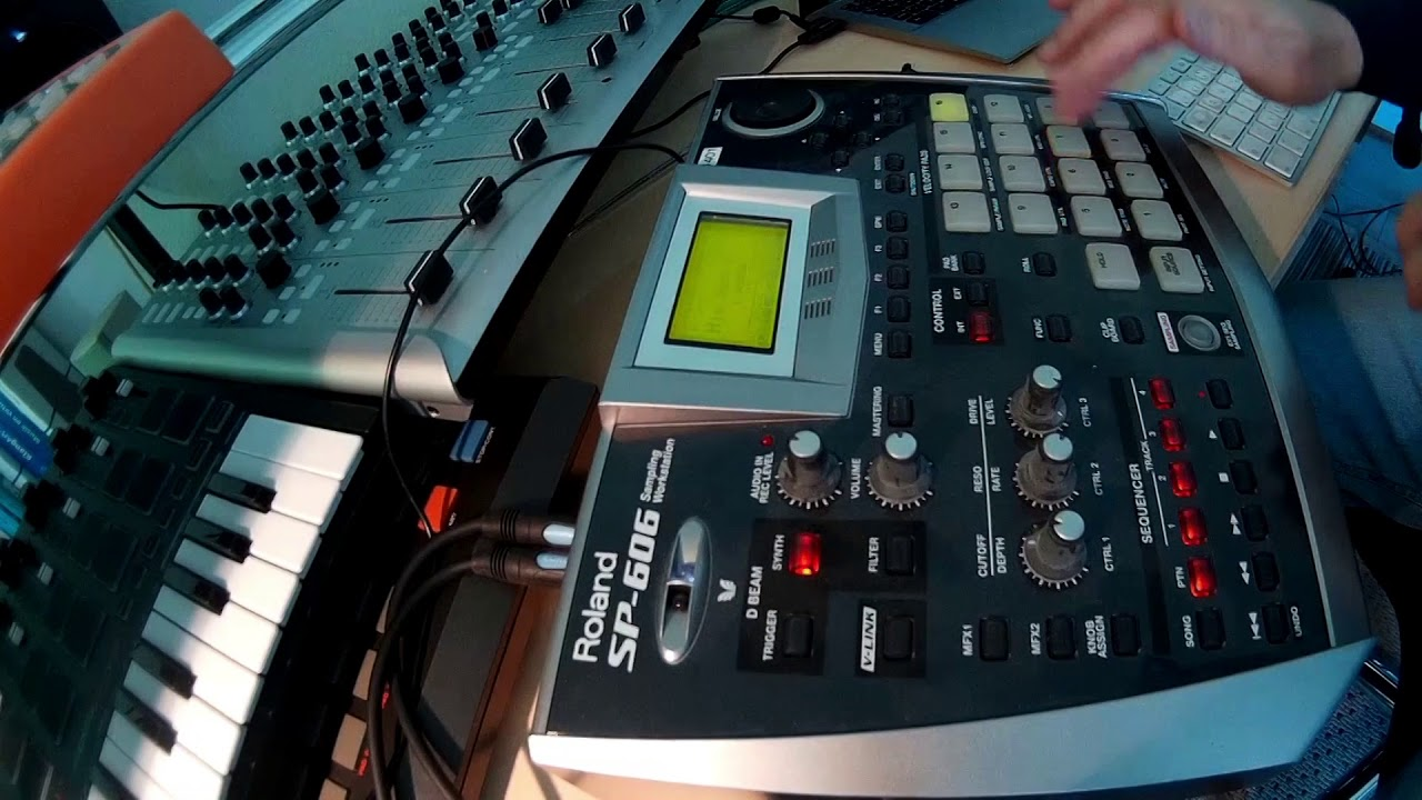 Roland sp-606 / improvisations youtube.