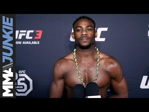 UFC Atlantic City: Aljamain Sterling full post fight interview