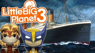 The Titanic, Totally Accurate!   Little Big Planet 3 Multiplayer (44)