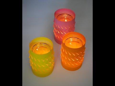 DIY - Tea Light Luminaries / Holders