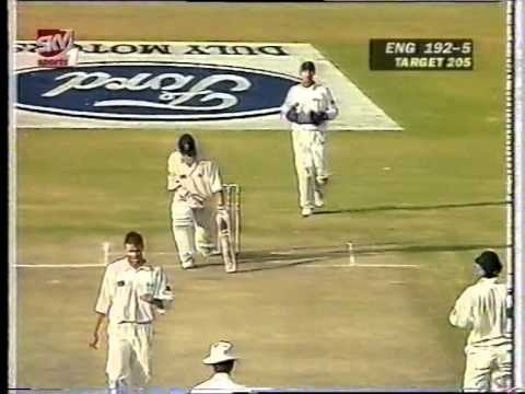 Cricket : Zimbabwe v England 1996-97 1st Test Day-5 : Part 2