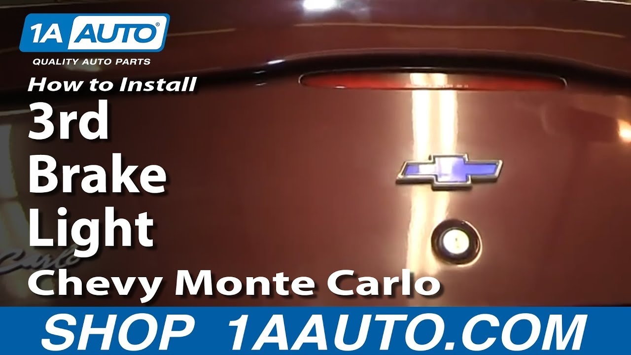maxresdefault how to install replace 3rd brake light 2000 07 chevy monte carlo  at crackthecode.co