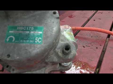 honda hybrid ac compressor replacement