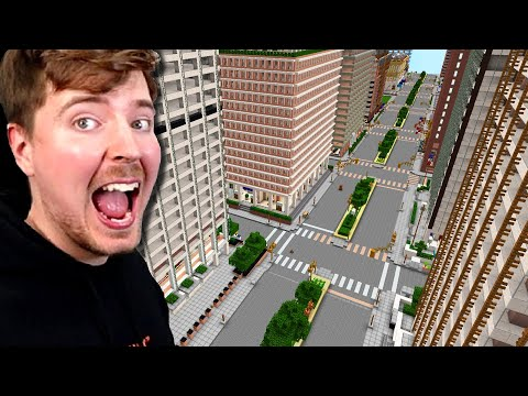 Extreme 1:1 City Hide and Seek! - MrBeast Gaming
