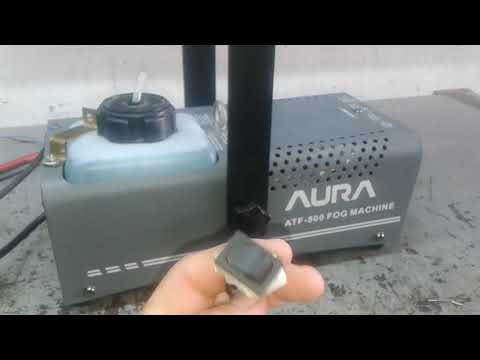 AURA ATF 500 FOG MACHINE CONTROLE  ADAPITADO BOMBA 220VLTS
