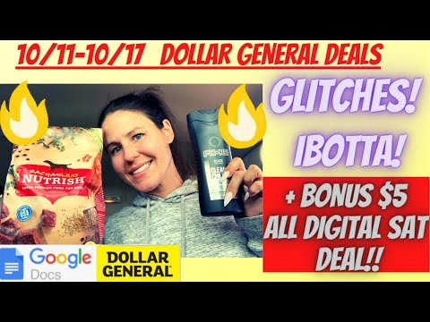 😁10/11 -10/17 Dollar General Deals You Can Do NOW | GLITCH TIME😱Dollar General Best Deals & DG 10/11