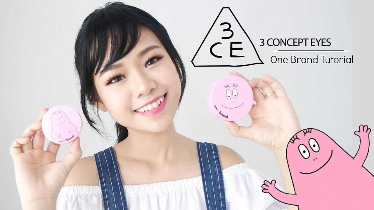 3CE Korean One Brand Tutorial & Review