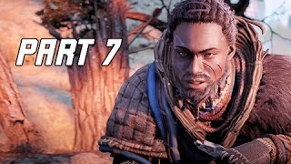 Horizon Zero Dawn Walkthrough Part 7 - War-Chief's Trail (PS4 Pro Let's Play Commentary)