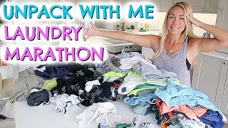 UNPACK AND CLEAN WITH ME ROUTINE    GET ORGANISED AFTER VACATION IN 24 HOURS!  EMILY NORRIS
