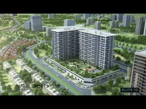 Dubai Sports City - Apartments in Dubai - Elite 10 Sports Residence (HD)