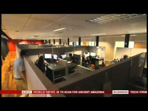 Rural Sourcing Inc on BBC World News