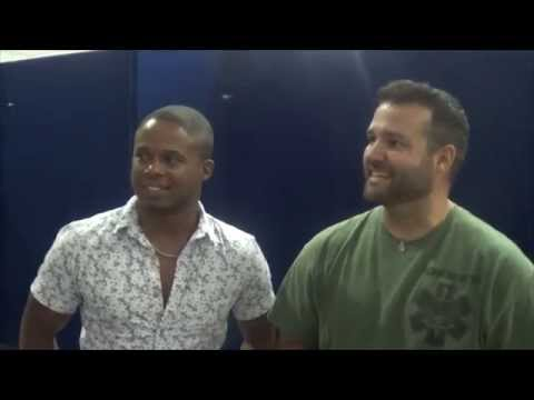 VAM Supanova Interview - Austin St. John & Walter Jones - Brisbane 2014