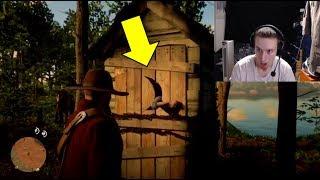 TERRIFYING ZOMBIE GIRL EASTER EGG! Red Dead Redemption 2 EASTER EGG | RDR2