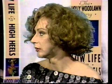 Late Warhol Superstar Holly Woodlawn P.1 Stephen Holt Show