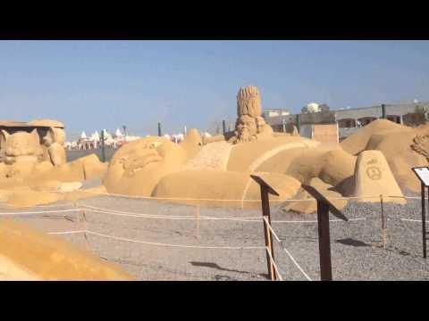 Sand City. Hurghada.Egypt.Part 2