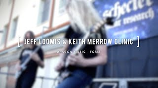JEFF LOOMIS & KEITH MERROW CLINIC 2017 @ DRAGON MUSIC