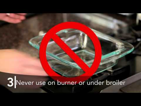 Can you use a glass dish in a convection oven
