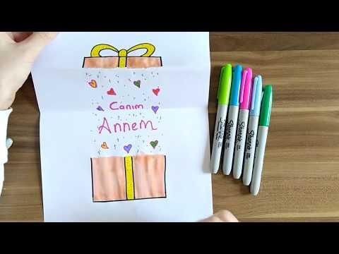 3 Güzel FİKİR 🎁 Anneler Günü Hediye Yapımı🎁  2020 (evde anneye hediye yapımı)