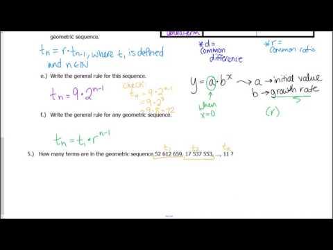 Mcr3 U Book 7 Sequences And Series - Lessons - Tes Teach