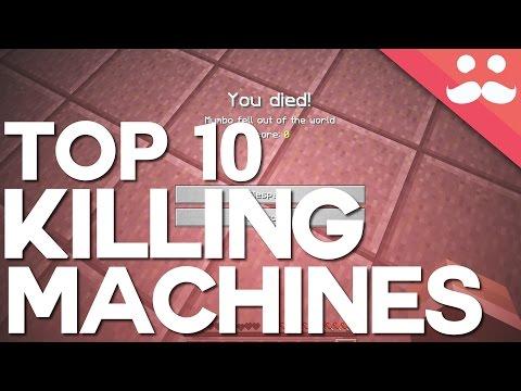 Top 10 Redstone Killing Machines in Minecraft!