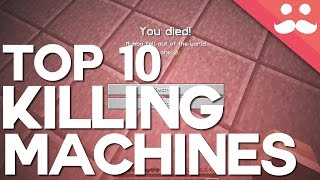 Top 10 Redstone Killing Machines in Minecraft!