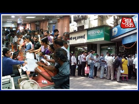 India Goes To Banks: Long Queues To Exchange, Security Beefed Up As Banks Reopen