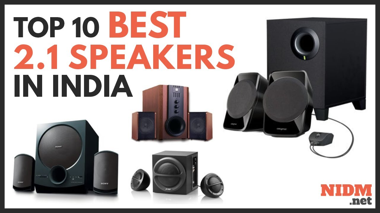 Best 2 1 Speakers In India 2019 – Reviews & Buyer's Guide