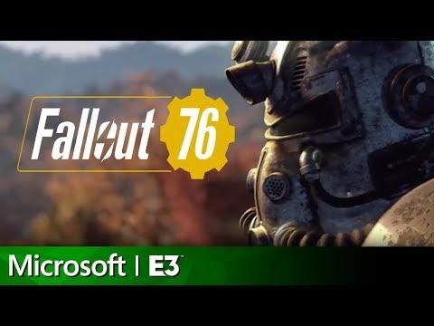 Fallout 76 Full Reveal | Microsoft Xbox E3 2018 Press Conference