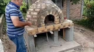Horno de ladrillos perfecto para hacer pan casero,pizza,chanchito horneado y mas