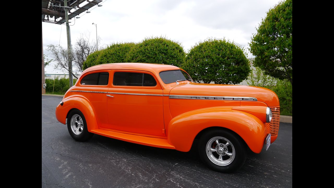 1940 Chevrolet Special Deluxe 2 Door Sedan Street Rod ...