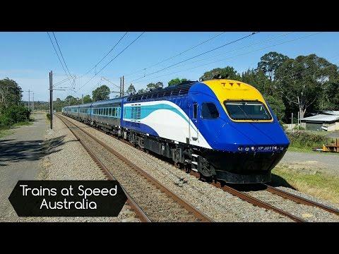 Trains At Speed - Australia