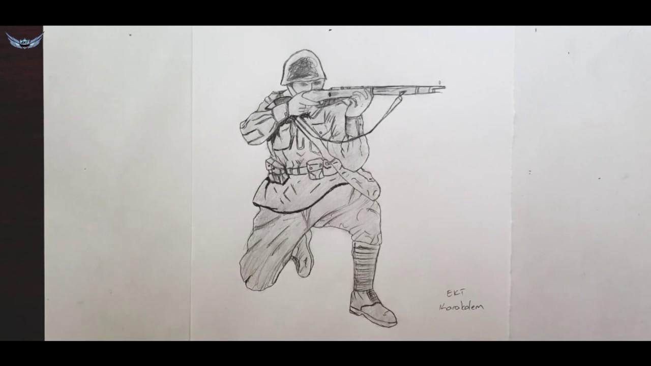 Nisanci Asker Resmi Cizimi Youtube