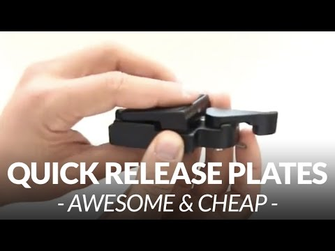 Cheap Quick Release Plates for your DSLR // Chris Winter
