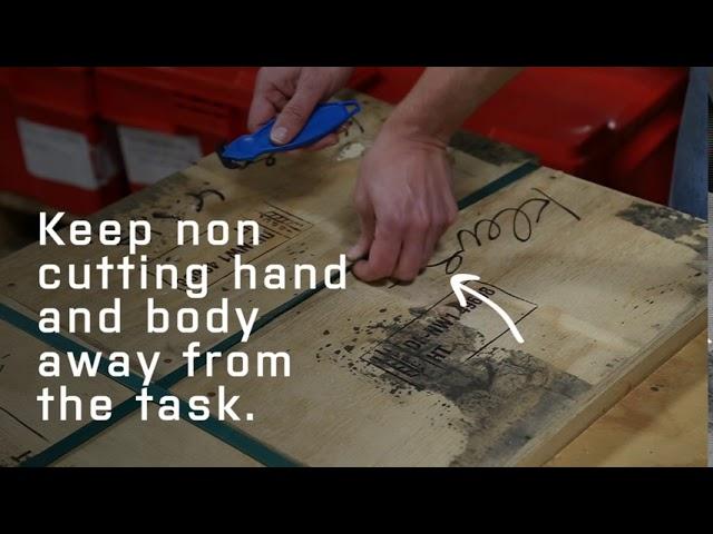 Klever Koncept — Cutting Plastic Banding