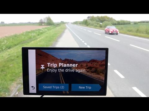 Garmin Drivesmart 61 Holiday Trip Planner
