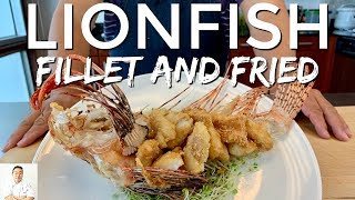 Whole Fried Lionfish | Clean, Fillet, Fry