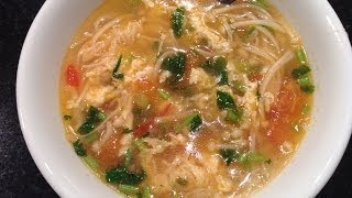 My Chinese Recipe Tomato Mushroom Soup! Super Delicious and Super Easy!