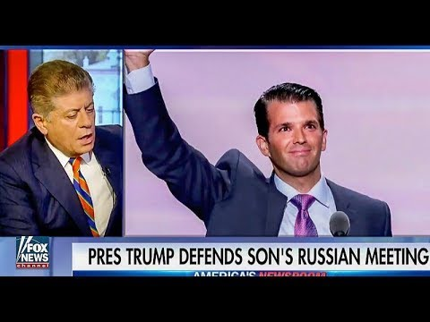 'Commence a criminal investigation': Judge Andrew Napolitano on Don Jr.'s Russia meeting