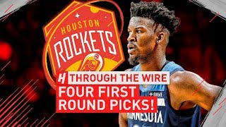 4 First Round Picks? | Through The Wire Podcast