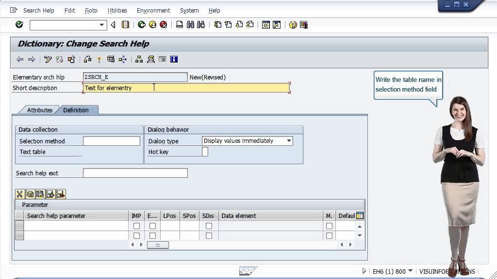 SAP ABAP - Search Help - Tutorials Point