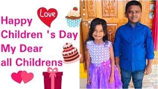 #Happy Children's Day Wishes to All My Dear Childrens/#Amulya's Kitchen & Vlogs