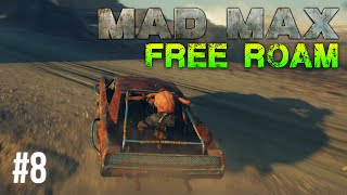 Mad Max Free Roam Gameplay #8 - Knuckledusters (Mad Max Single Player Free Roam)