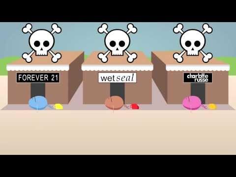 Dumb Ways to Shop (Dumb Ways to Die parody video)