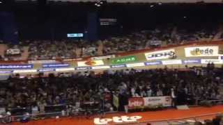 The wave at the Gent Zesdaagse 2014
