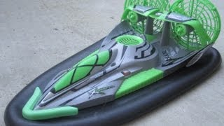 Fast Lane RC X-Craft Hovercraft on Land ...