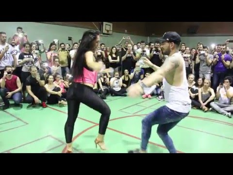 DANIEL Y DESIREE - BACHATA SENSUAL en Barcelona Latin Dance Festival 2015