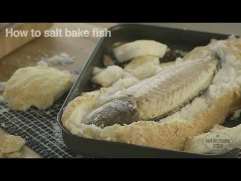 How To Salt Bake Fish | Good Housekeeping UK