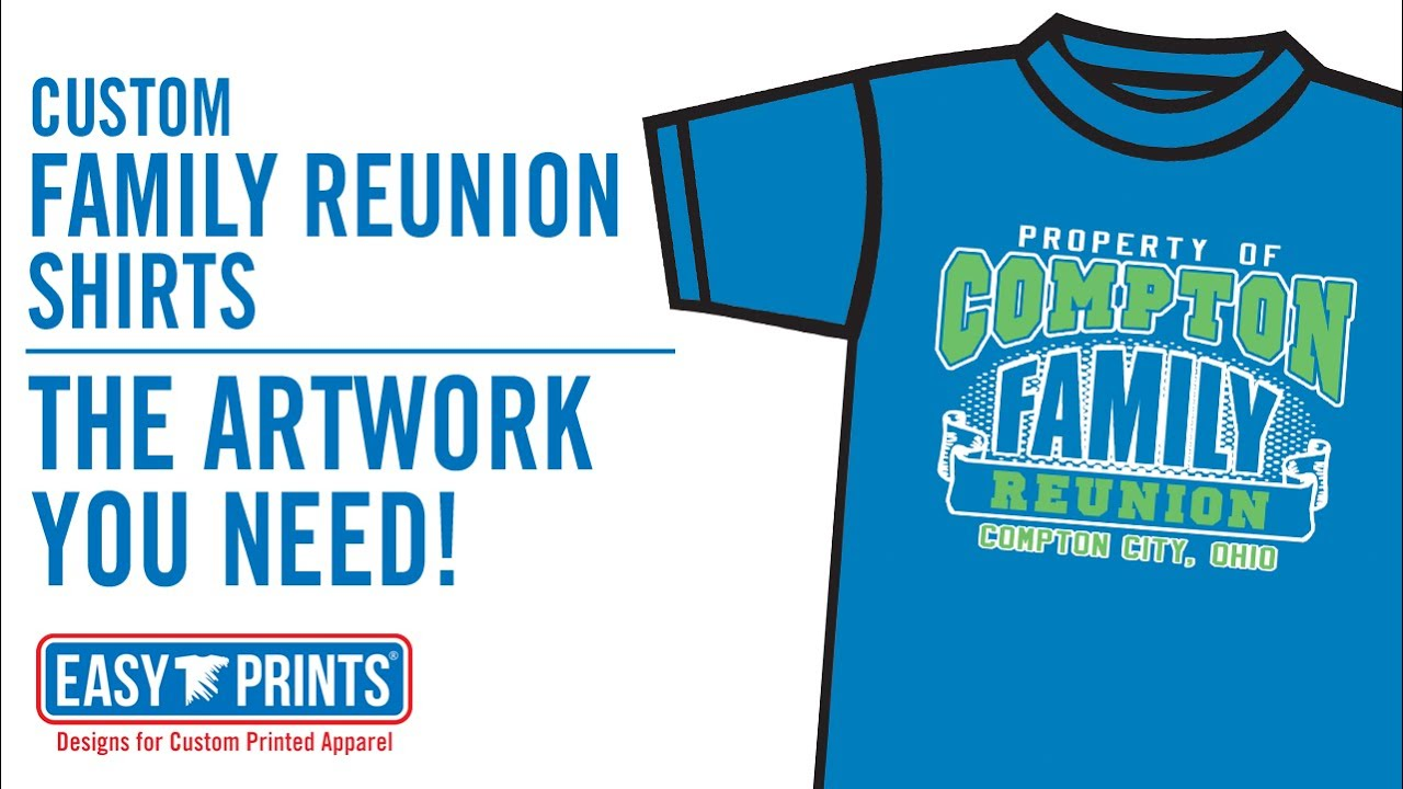 Family Reunion Design Tee Shirts