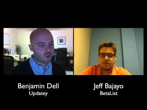 Interview with Benjamin Dell - Founder Updatey
