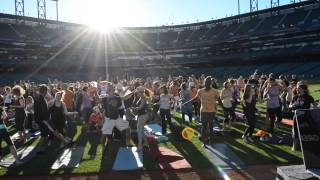 Yoga Day in the Park DJ HyFi + Janet Stone at Giants Stadium